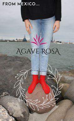 Dónde sea... tus calcetas de #AgaveRosa, #MadeInMexico ◈◈◈◈