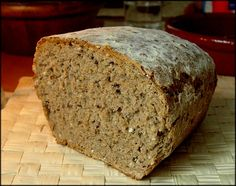 The Montignac method: Complete bread or integral bread machine IG low - GP Montignac Diet Pan Bread, Bread Baking, Real Food Recipes, Cooking Recipes, Healthy Recipes, Mexican Bread, Bread Machine Recipes, Our Daily Bread, Tasty Bites