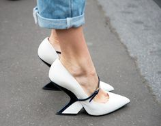 How to Cuff Your Jeans Like a Street Style Star - Make Tiny Folds - from InStyle.com