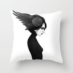 Amy Throw Pillow by Ruben Ireland - $20.00