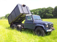 Land Rover Defender 110 130 6x6 tipper pickup | eBay