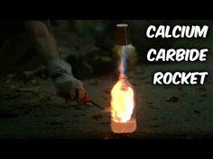 Calcium Carbide Rocket - YouTube