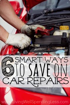 Are there any expenses more annoying than having to pay for car repairs? Don't miss these six super smart ways to keep car repair & maintenance costs to a minimum. #4 alone has saved us thousands! via Living Well Spending Less