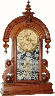 "antique Ansonia ""Parisian"" Model Clock"