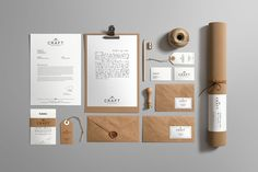 Craft Branding Mockup by Genetic96 on Envato Elements
