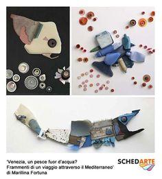 Pezzi di legno e ferro, ritagli di plastica e vetrini colorati sono le materie prime delle opere di Marillina Fortuna, scultrice italiana specializzata nell'assemblaggio dei rifiuti provenienti dal mare.