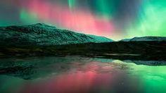 Noorderlicht  exquisite northern lights magnificently reflected!!!
