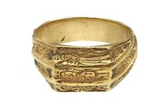 Finger ring or posy ring; c. 1470