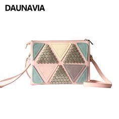 DAUNAVIA Women Messenger Bags Shoulder Strap Bags Clutch Bags Handle Women Leather Handbag Envelope Clutch Crossbody Bag Bolsas  #Affiliate