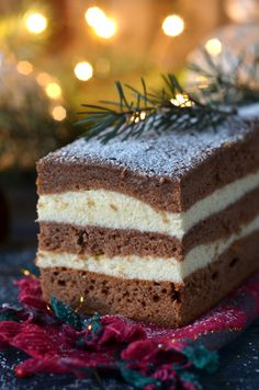ciasto piernikowe naherbacie Polish Cake Recipe, Polish Recipes, My Favorite Food, Favorite Recipes, Cake Cookies, Vanilla Cake, Cake Recipes, Nutella, Food And Drink