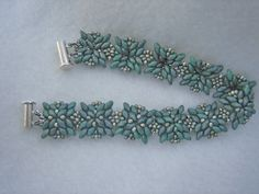 Victoria Rumiantzeva bracelet with different component orientation ~ Seed Bead Tutorials