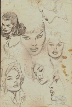 John Buscema Sketches