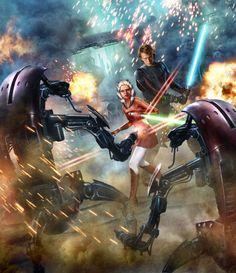 Battle Of Christophsis Ahsoka Tano Anakin Skywalker