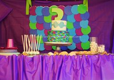 the every things.: Kennedy turns THREE! Little Mermaid Birthday Party {decor}