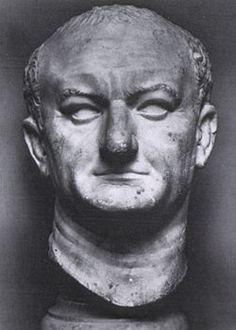 Ritratto di Vespasiano; I secolo (70) d.C.; marmo; da Ostia; Museo Nazionale Romano, Roma.
