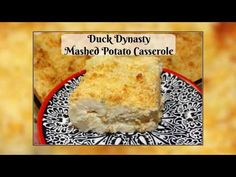 This casserole recipe by Ms Kay from Duck Dynasty is a guaranteed crowd pleaser and a delicious holiday side dish! Who doesn't like the ultimate comfort food- creamy, warm mashed potatoes? Mashed Potato Casserole, Mashed Potatoes, Potato Dishes, Potato Recipes, Vegetable Side Dishes, Vegetable Recipes, 9x13 Baking Dish, Holiday Side Dishes, Duck Dynasty
