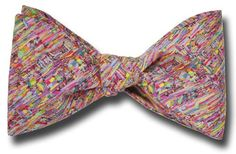 Liberty of London Ptolemy in Pinks Bow Tie