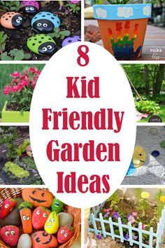 diy garden ideas Teaching kids about gardening and growing their own food can be a wonderful experience. Here are 8 kid friendly gardening ideas your child is sure to love. Gardening For Beginners, Gardening Tips, Gardening With Kids, Gardening Scissors, Gardening Gloves, Flower Gardening, Garden Art, Garden Design, Kid Garden