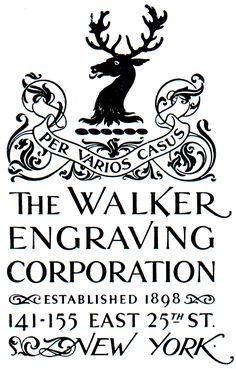 1948, address block for the Walker Engraving Company.