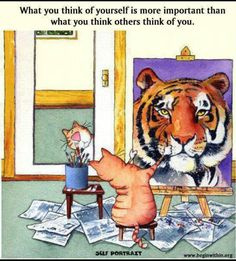 How you see yourself is what matters most <3