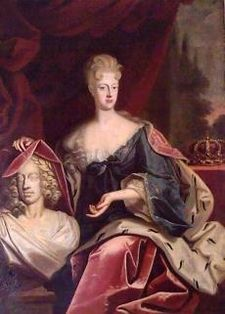 Elisabeth Christine of Brunswick-Wolfenbüttel (1691 - 1750). Holy Roman Empress from 1711 until her husband died in 1740. She was married to Charles VI.