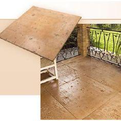 Piso cimentício Castelatto terracota