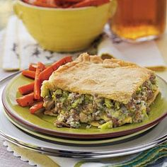 Ground beef makes this a quick take on an old classic...yummy!