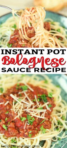Enjoy Instant Pot Bolognese Sauce Recipe in minutes thanks to this easy recipe. Get dinner on the table in under 20 minutes for a hearty meal. Bolognese Recipe, Bolognese Sauce, Easy Pressure Cooker Recipes, Instant Pot Pressure Cooker, Zucchini Noodle Recipes, Homemade Dinner Rolls, Hearty Meal, Small Meals, Sauce Recipes
