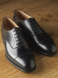 The Whitehall Oxford in Black. You always need a black pair of dress shoes with a spit polish shine......
