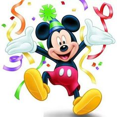 Happy Birthday Mickey Mouse Images and Quotes - Happy Birthday Time Happy Birthday Mickey Mouse, Happy Birthday Kids, Happy Birthday Pictures, Happy Birthday Messages, Happy Birthday Quotes, Mickey Mouse And Friends, Happy Birthday Greetings, Minnie Mouse, Disney Happy Birthday Images