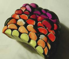 Rainbow cane - great for small left overs of colours