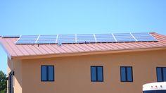 Solar Panels at Ambyth Estate.  #organic, #biodynamic, #green, #sustainable, #eco, #ecofriendly, #natural, #wine, #vineyard, #solar