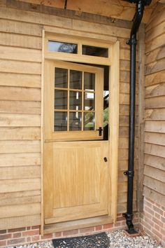 Stable Doors for utility.
