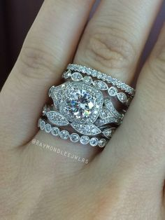 Love stacked rings
