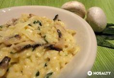 Medvehagymás-gombás rizotto Ethnic Recipes, Food, Essen, Meals, Yemek, Eten