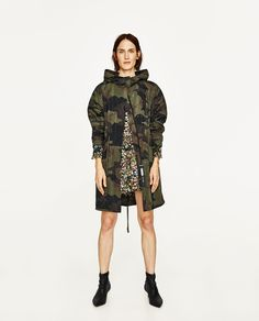 CAMOUFLAGE PRINT PARKA-NEW IN | ZARA United Kingdom