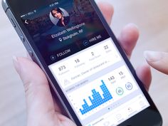 Dribbble - Profile iOS by Gleb Kuznetsov✈