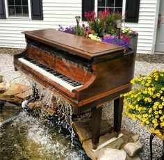 Piano Waterfall-how cool is this!!