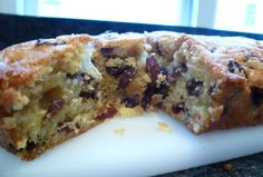 Tales from a Café Chick: Sultana cake