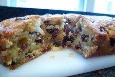 Tales from a Café Chick: Sultana cake