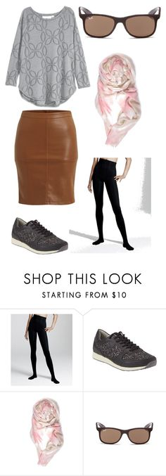 """""""Untitled #17"""" by lone-haure-norrevang on Polyvore featuring H&M, VILA and Ray-Ban"""