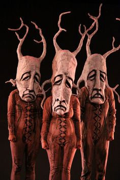 tree people puppets