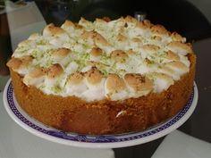 Aprenda a preparar a receita de Torta de limão. #TudoGostoso.