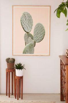 Wilder California Mountain Cactus Art Print - Urban Outfitters