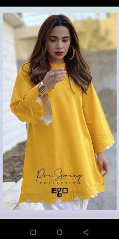 Fancy Dress Design, Stylish Dress Designs, Stylish Dresses For Girls, Simple Dresses, Casual Dresses, Beautiful Dresses, Sleeves Designs For Dresses, Dress Neck Designs, Sleeve Designs