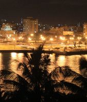 Havana Panoramic View at night
