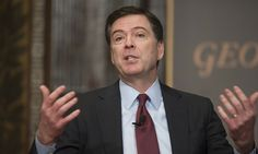 James Comey defended police forces around the US but called for better data collection on officer-involved shootings in frank remarks about policing and race