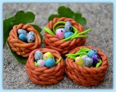 Les plus jolies créations fimo de Pâques #1 : les oeufs