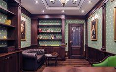 HOUSE INTERIOR | Office interior design։ English office | http://house-interior.net    #office #design #decor #interiordesign #interior #decoration #homedecor #homedesign #officedesign