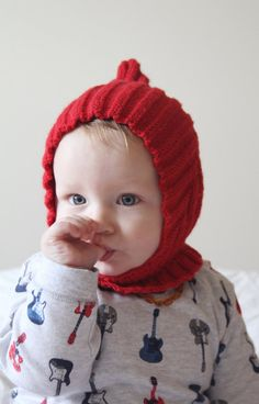 Pixie Hat with Collar